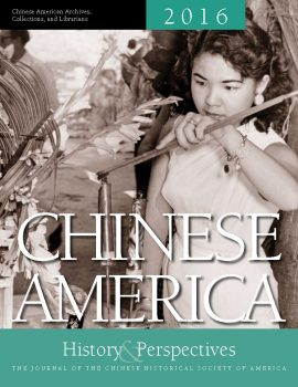 Chinese America: History & Perspectives 2016