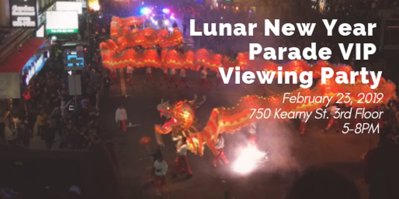 Chinese Culture Center Lunar New Year Parade Viewing Party