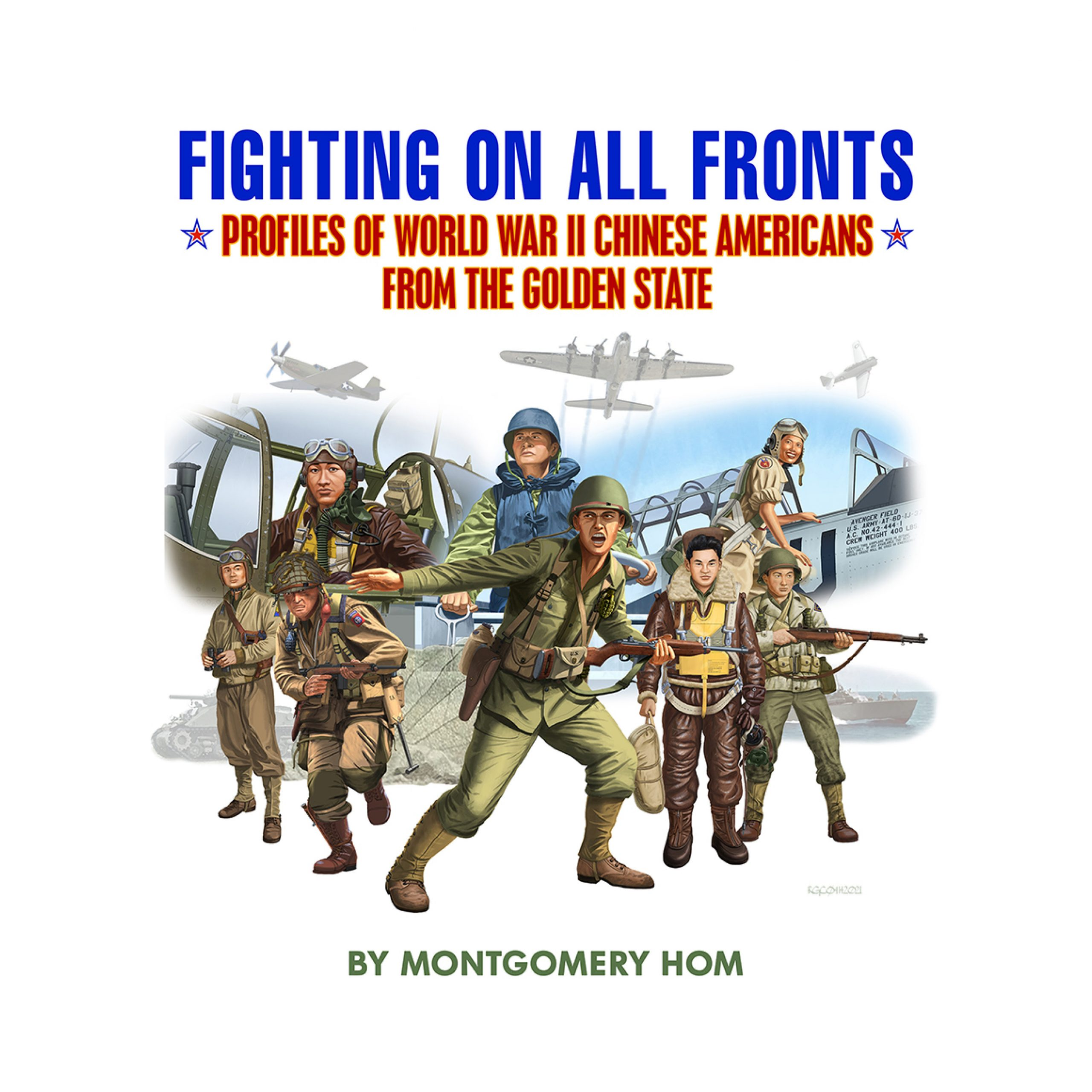 Fighting book cover