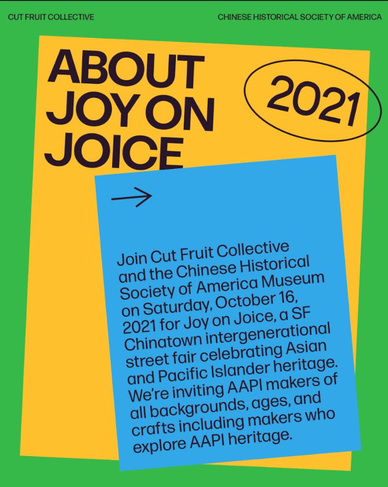 Joy On Joice Street Fair